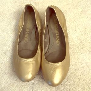 Light gold flats